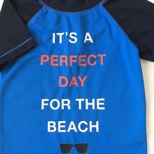 Gap water shirt 18 24 Mo blue pool boys girls
